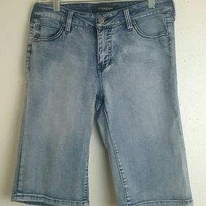 Liverpool Jeans Co Bae Bermuda Jean Shorts